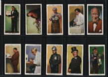 Tobacco Cigarette cards Punch & Judy, gypsy etc 1938